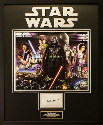 Charity Auction Items -Autographed Star Wars Memorabilia