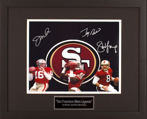 Charity Auction Items - Autographed Sports Memorabilia - 49ers 11x14 Photo