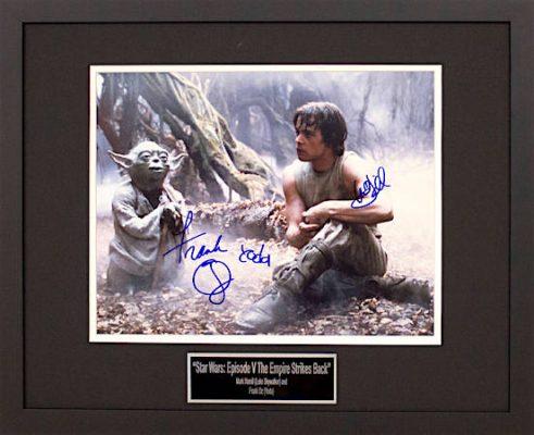 Autographed Star Wars Memorabilia