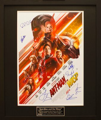 Charity Auction Items - Autographed 16×20 Movie Posters - ANT MAN