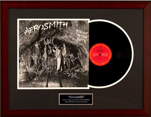 Charity Auction Items - Autographed Record Albums - Aerosmith