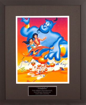 Charity Auction Items - Autographed Animation Art - Alladin