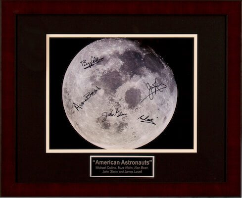 Charity Auction Items - Autographed Celebrity Photos - American Astonauts