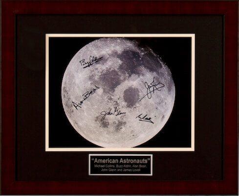 Charity Auction Items - Autographed Celebrity Photos - American Astonauts