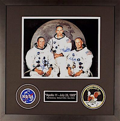 Charity Auction Items - Autographed 11×14 Celebrity Photos - Apollo 2