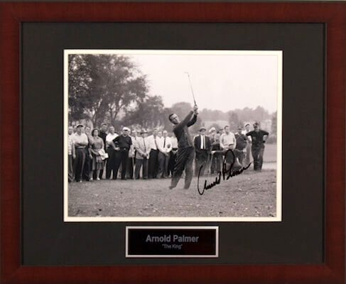 Charity Auction Items - Autographed Sports Memorabilia - Arnold Palmer 11x14 Photo