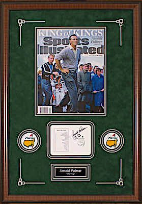 Charity Auction Items - Arnold Palmer King Of Kings -Autographed Sports Memorabilia
