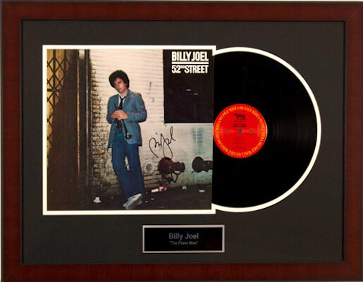 Charity Auction Items - Autographed Record Albums - Billy Joel