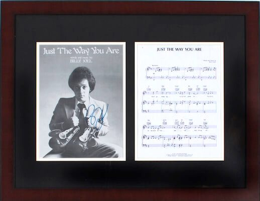 Charity Auction Items - Autographed Sheet Music - Billy Joel