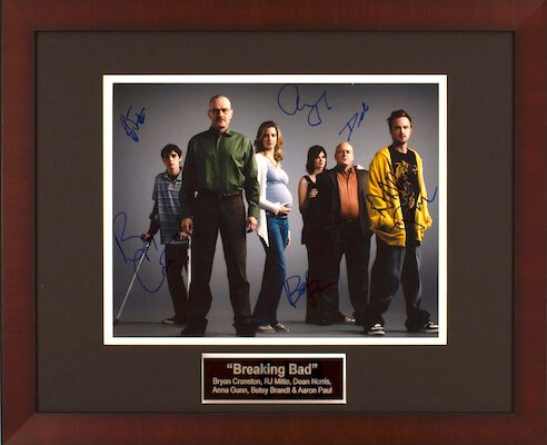 Charity Auction Items - Autographed Celebrity Photos - Breaking Bad