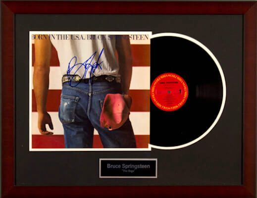 Charity Auction Items - Autographed Record Albums - Bruce Springsteen