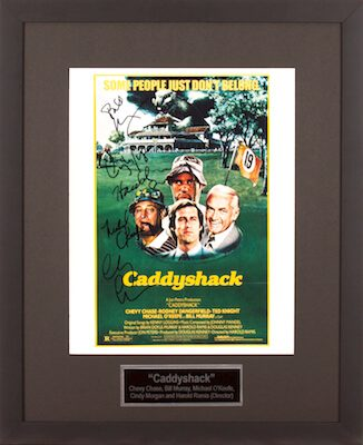 Charity Auction Items - Autographed Celebrity Photos - Caddyshack