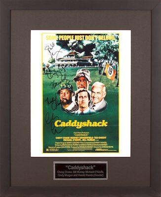 Charity Auction Items - Autographed Celebrity Photos - Caddyshack