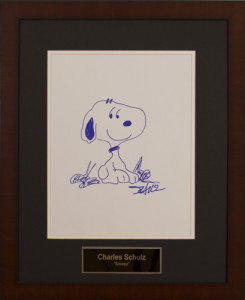 Charles Schulz Sketch Low Res