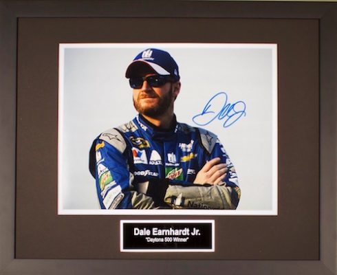 Charity Auction Items - Autographed Sports Memorabilia - Dale Earnhardt Jr.