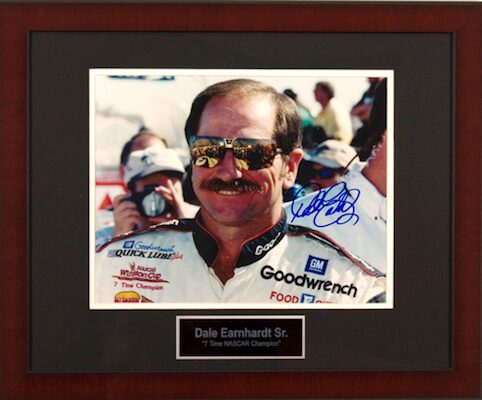 Charity Auction Items - Autographed Sports Memorabilia - Dale Earnhardt Sr 11x14 Photo
