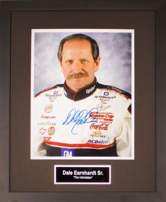 Charity Auction Items - Autographed Sports Memorabilia - Dale Earnhardt Sr.