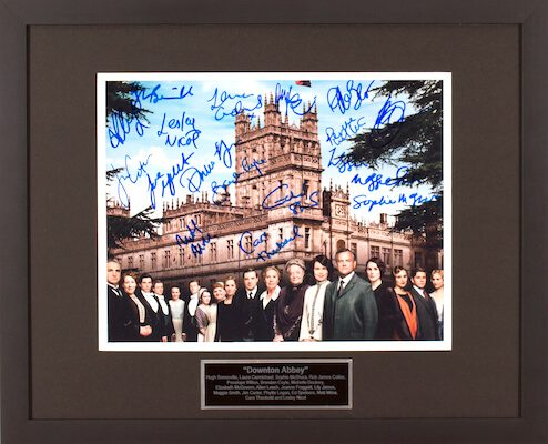 Charity Auction Items - Autographed Celebrity Photos - Downton Abbey