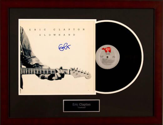 Charity Auction Items - Autographed Record Albums - Eric Clapton