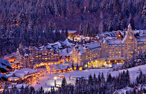 Charity Auction Items - VIP Experiences & Vacation Packages -Fairmont Chateau Whistler Ski