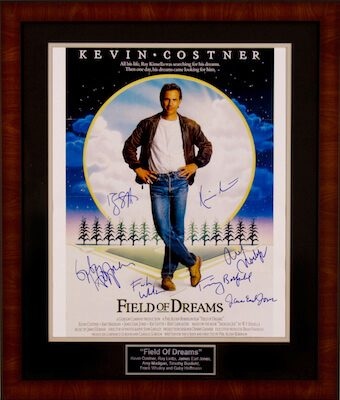 Charity Auction Items - Autographed 16×20 Movie Posters - Field of Dreams