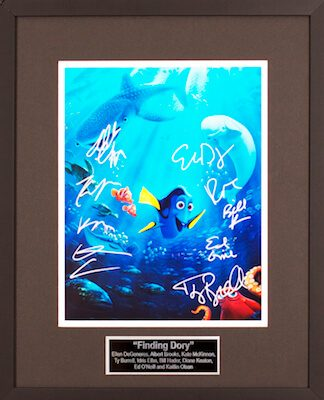 Charity Auction Items - Autographed Animation Art - Finding Dory