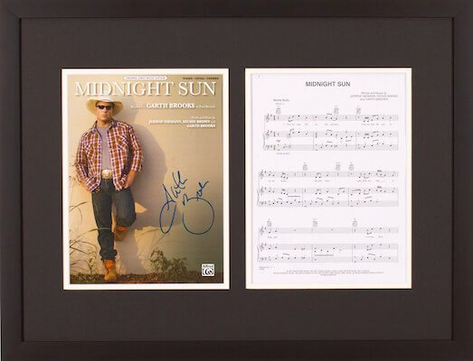 Charity Auction Items - Autographed Sheet Music - Garth Brooks