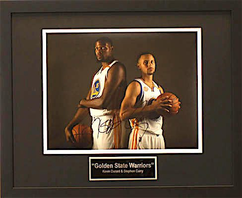 Charity Auction Items - Golden State Warriors-Autographed Sports Memorabilia