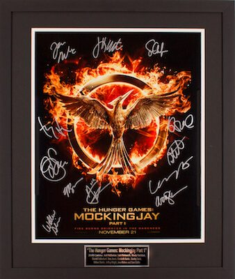 Charity Auction Items - Autographed 16×20 Movie Posters - Hunger Games