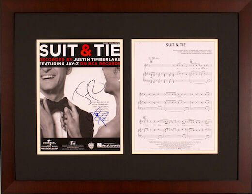 Charity Auction Items - Autographed Sheet Music - JT