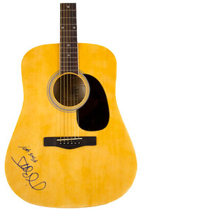 Charity Auction Items - Autographed Guitars -Jimmy Buffet Guitar