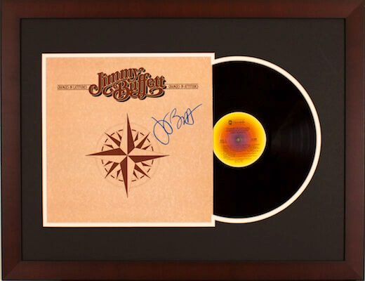 Charity Auction Items - Autographed Record Albums - Jimmy Buffett