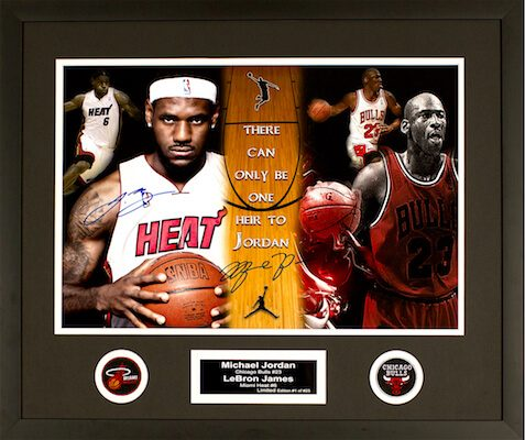 Jordan (Bulls) James (Heat)