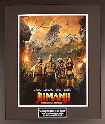 Charity Auction Items - Autographed 16×20 Movie Posters - Jumanji Welcome To The Jungle