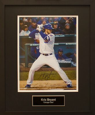 Charity Auction Items -Autographed Sports Memorabilia - KRIS BRYANT