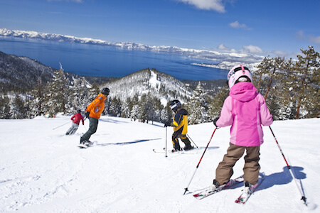 Charity Auction Items - VIP Experiences & Vacation Packages -Lake Tahoe Ski