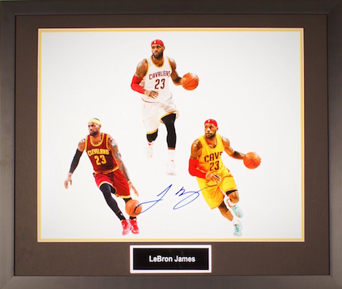 Charity Auction Items - Autographed Sports Memorabilia - LeBron James