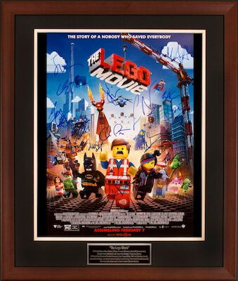 Charity Auction Items - Autographed Animation Art - Lego Movie