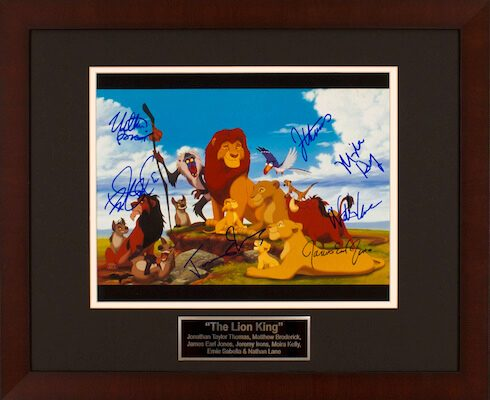 Charity Auction Items - Autographed Animation Art - Lion King