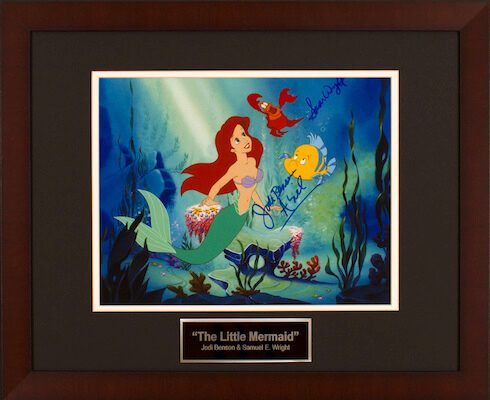 Charity Auction Items - Autographed Animation Art - Little Mermaid