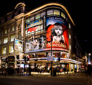 Charity Auction Items - VIP Experiences & Vacation Packages -London West End Theatre