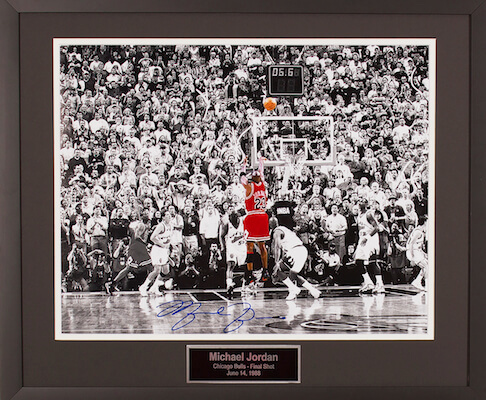 Charity Auction Items - Autographed Sports Memorabilia - Michael Jordan 16x20 Photo