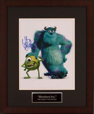 Charity Auction Items - Autographed Animation Art - Monsters