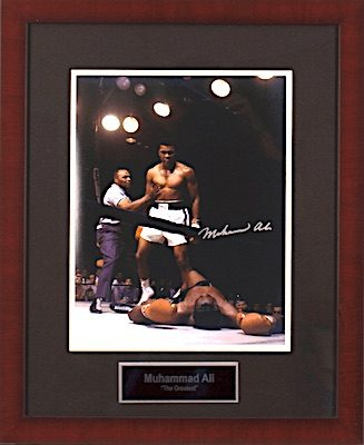 Charity Auction Items - Autographed Sports Memorabilia - Muhammad Ali 11x14