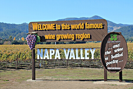 Charity Auction Items - VIP Experiences & Vacation Packages -Napa Valley Wine