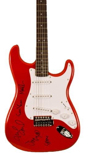 Silent Auction Idea Pearl Jam Autographed Guitar