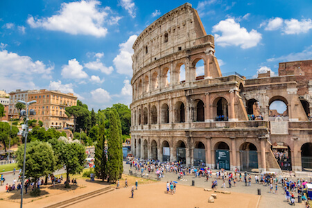 Charity Auction Items - VIP Experiences & Vacation Packages -Rome Italy