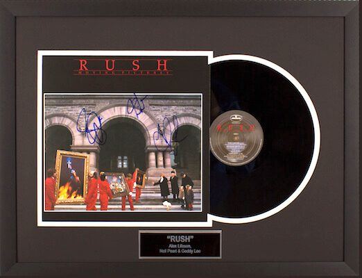 Charity Auction Items - Autographed Record Albums -Rush Record