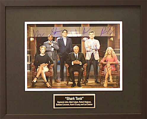 Charity Auction Items - Shark Tank - Autographed 11×14 Celebrity Photos