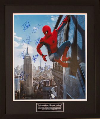 Charity Auction Items - Autographed 16×20 Movie Posters - Spiderman